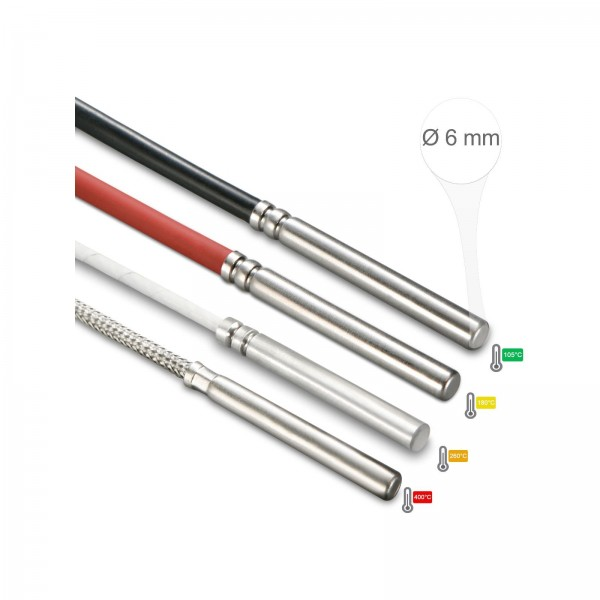 Sensorshop24® 006-KP датчик температуры Ø6 мм