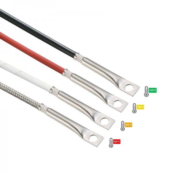 Sensorshop24® 012-L7 поверхностный датчик температуры с отверстием