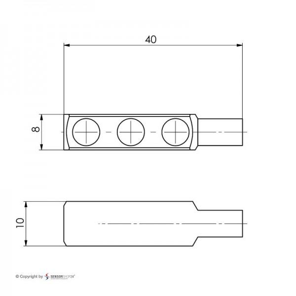 Sensorshop24® 013-L5 магнитный датчик температуры