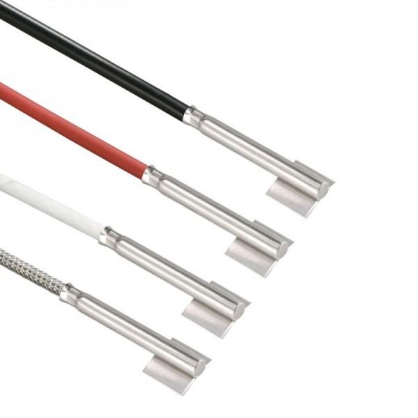 Sensorshop24® 015-L4 трубный датчик температуры с нержавеющей гильзой