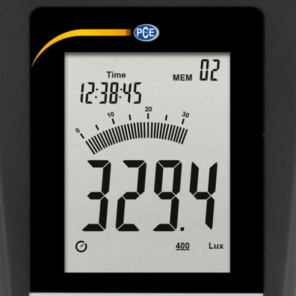 PCE-174 люксметр с выносным датчиком и функцией регистрации