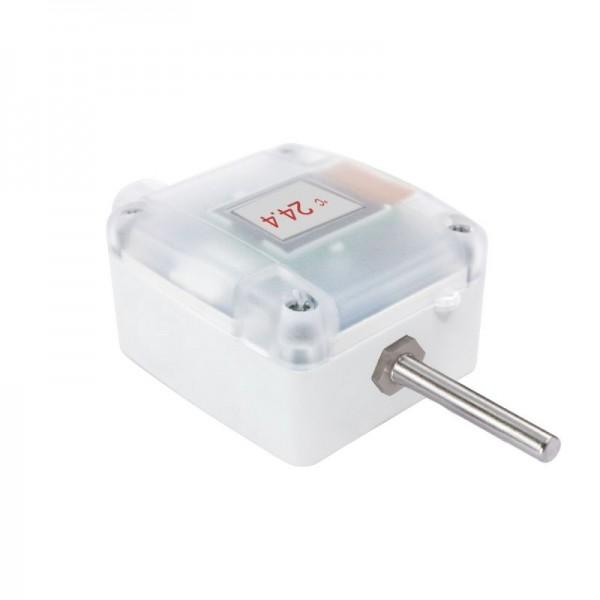 Sensorshop24® AUF1/ext/A наружный датчик температуры c гильзой и аналоговым выходом