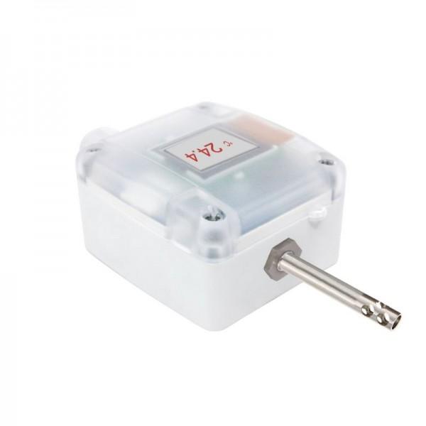 Sensorshop24® AUF1/extLF/A датчик температуры с перфорированной гильзой и аналоговым выходом