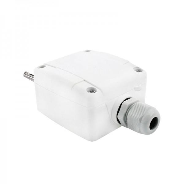 Sensorshop24® AUF1/extSS наружный датчик температуры с гильзой и защитой от солнца