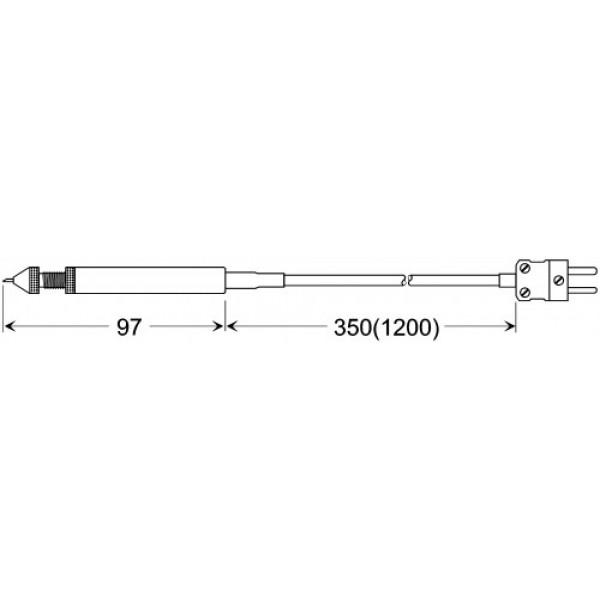 GRF 200 датчик температуры -50...+200°C, длинна 27 мм. для шин