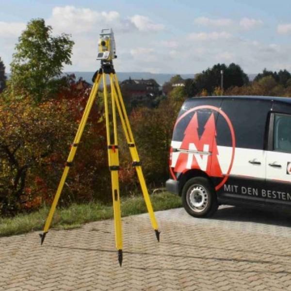 Nestle MAX-I тяжелая, высокая, деревянная тренога для высокоточных тахеометров и лазеров