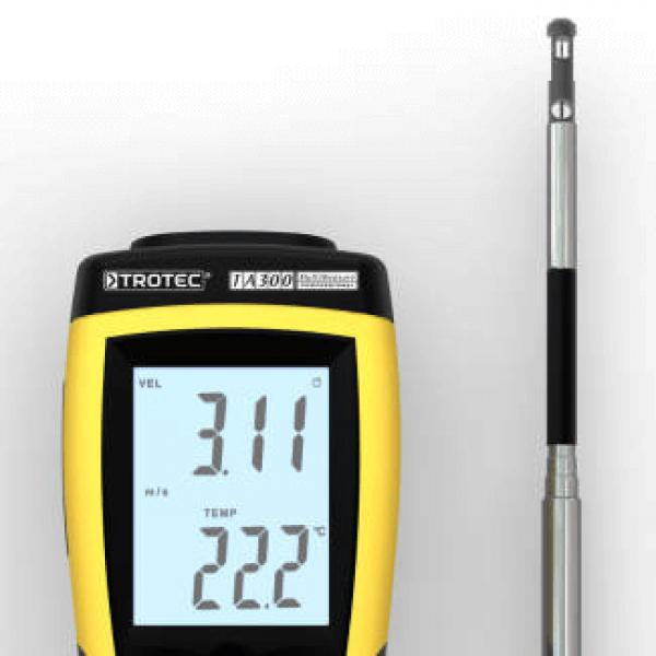 Trotec TA300 профессиональный тепловой анемометр