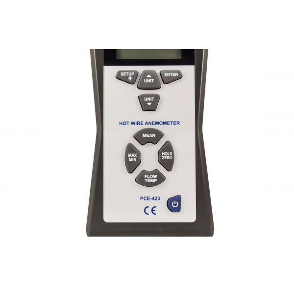 PCE-423 профессиональный тепловой анемометр