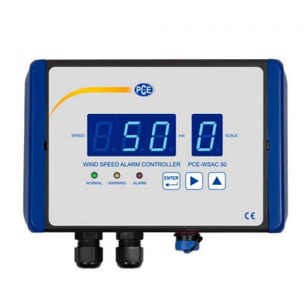 PCE-WSAC 50 анемометр с сигнализацией