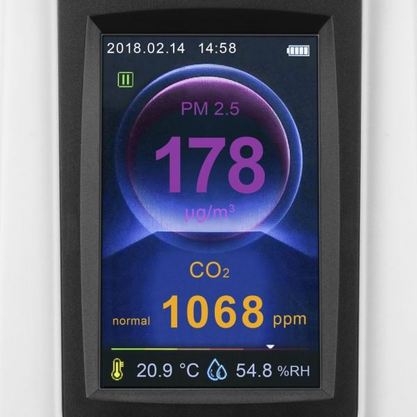 Trotec BQ30 счётчик частиц и анализатор углекислого газа