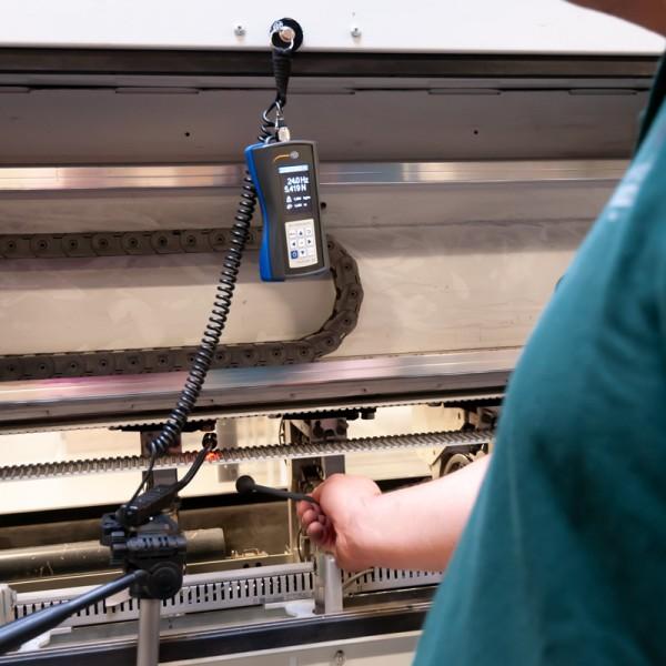 PCE-BTM 2000 измеритель натяжения ремней