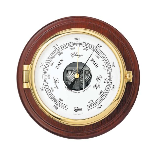 Barigo 1586MS морской баро-/термометр с окантовкой из дерева