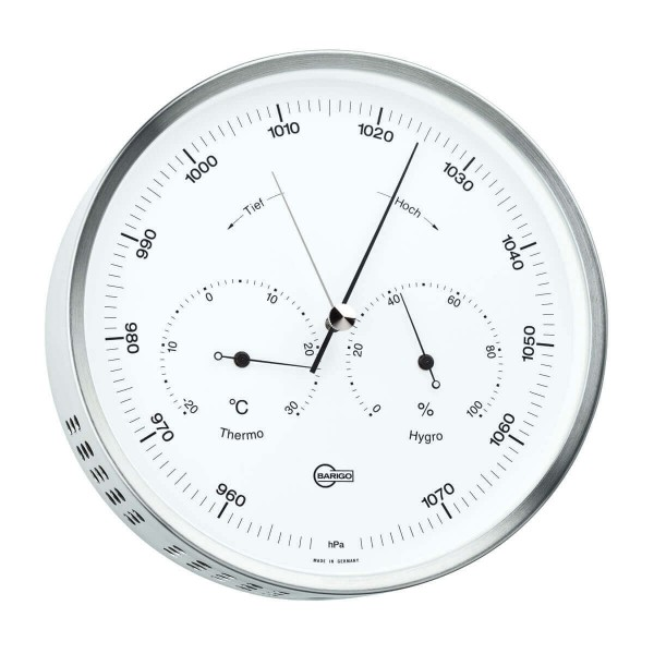Barigo 350M стильный термометр, барометр, гигрометр
