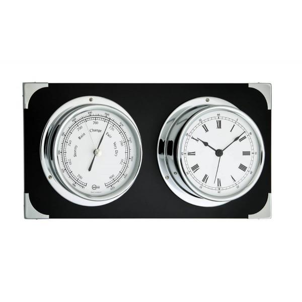 Barigo 2084CR барометр с комфортметром и часы для яхт