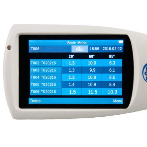 PCE-IGM 100 точный блескомер c геометрией измерения 20°/60°/85°
