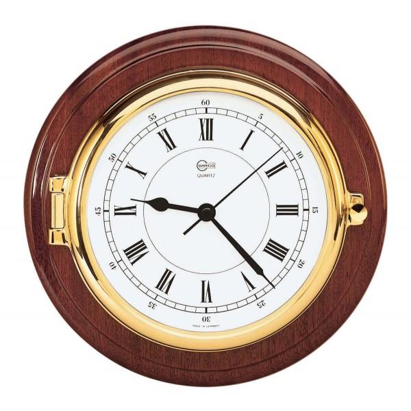 Barigo 1587MS морские часы с окантовкой из дерева