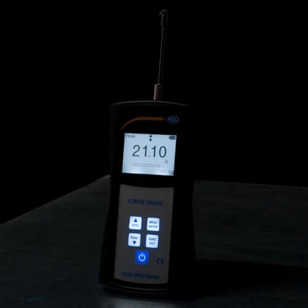 PCE-LFG 5 динамометр до 5Н (0,51 кг) с функцией записи