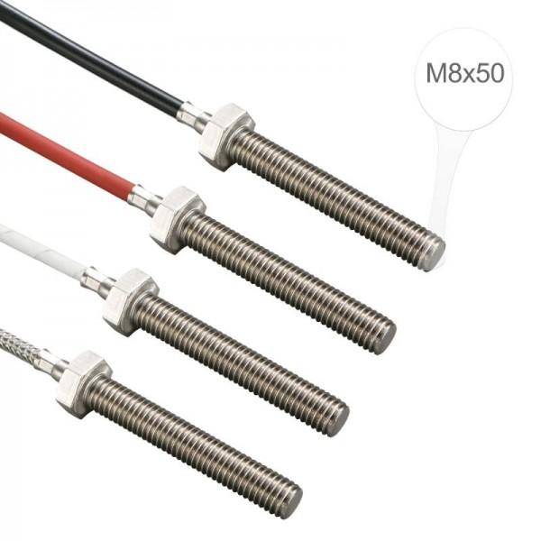 Sensorshop24® EF6 ввинчиваемый датчик температуры М8х50