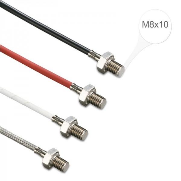 Sensorshop24® EF7 ввинчиваемый датчик температуры М8х10