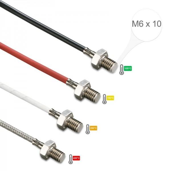 Sensorshop24® EF8 ввинчиваемый датчик температуры М6х10