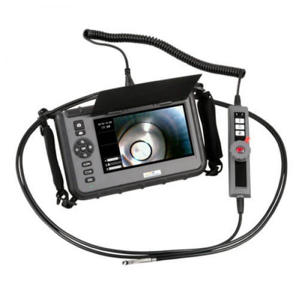 PCE-VE 1036HR-F промышленный видеоэндоскоп c поворотом камеры на 2 стороны и функцией HighRes