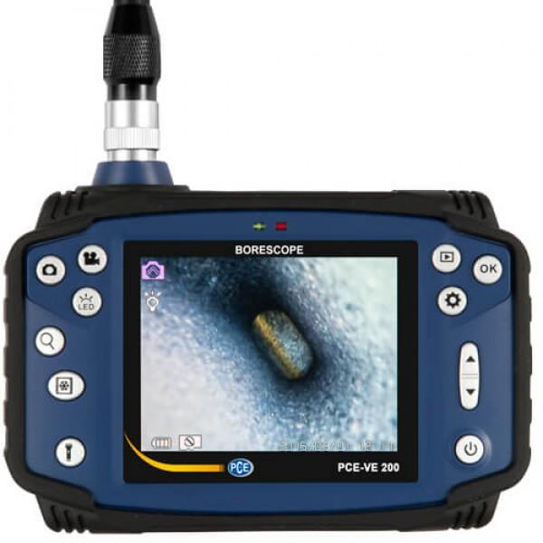 PCE-VE 200 UV технический эндоскоп с ультрафиолетом