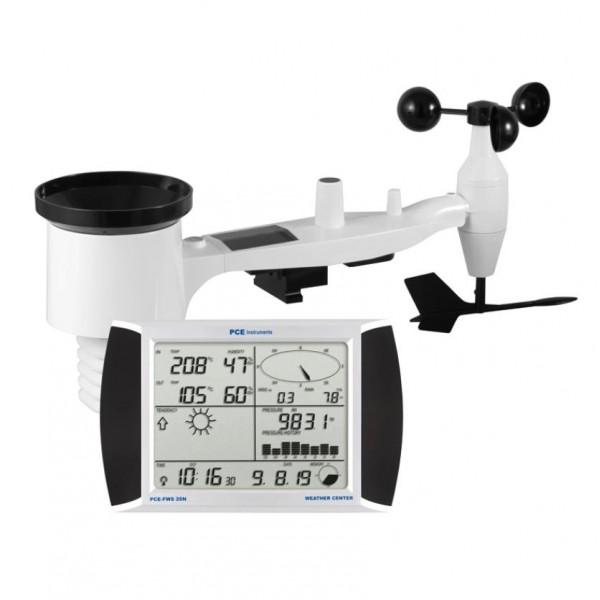 PCE FWS-20N автономная метеостанция