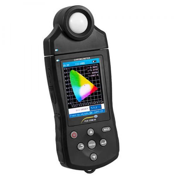 PCE-CRM 40 спектрометр, люксметр, колориметр