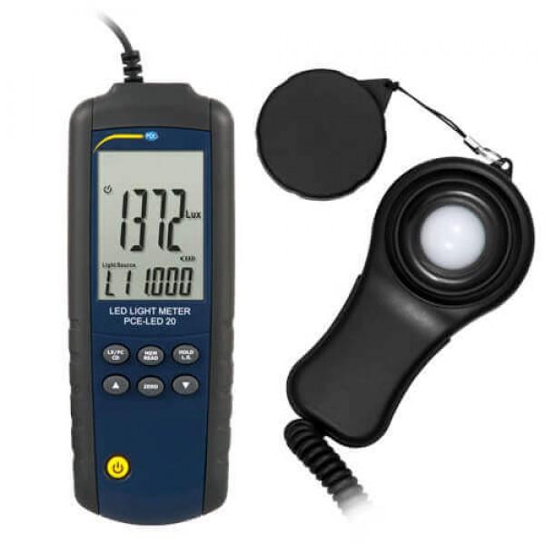 PCE-LED 20 люксметр с выносным датчиком