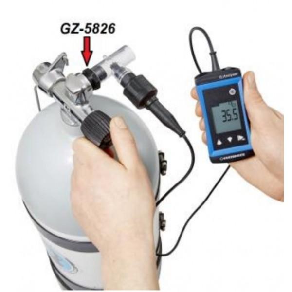 Greisinger G1690-MAX анализатор кислорода в воздухе и газовых смесях (0...100% О2)