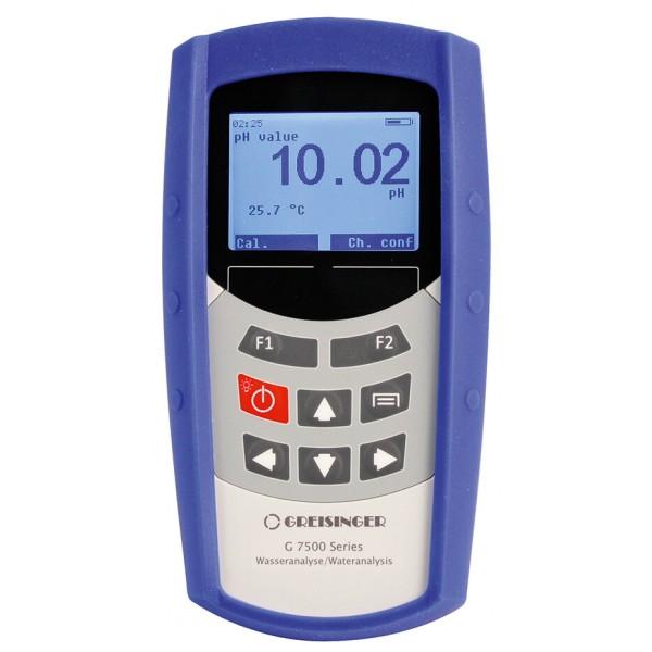 Greisinger G7500 профессиональный, многоканальный анализатор воды (измеритель кислорода, кондуктометр, ОВП-метр, pH-метр и термометр)