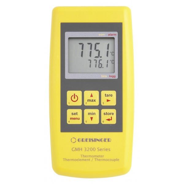 Greisinger GMH 3211 профессиональный термометр с выходом для внешнего блока питания