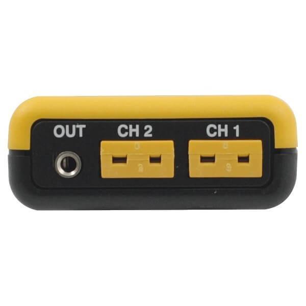 Greisinger GMH 3251 двухканальный термометр с функцией регистратора и выходом для внешнего блока питания