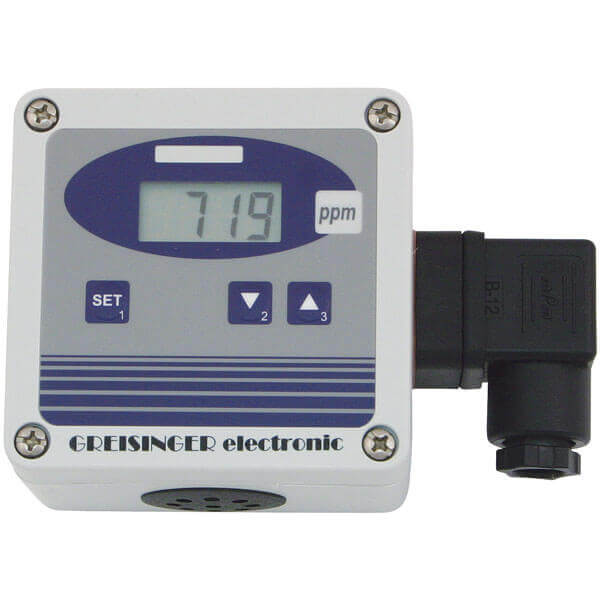 Greisinger GT10-CO2-1R анализатор углекислого газа (СО2)