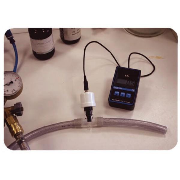 Greisinger GOX 100T анализатор кислорода для дайвинга