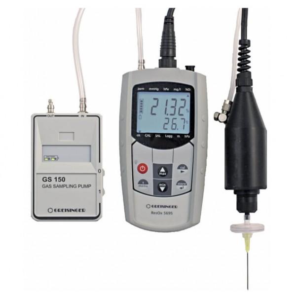 Greisinger ResOx 5695-H система измерения остаточного кислорода (для газов с повышенным содержанием CO2)