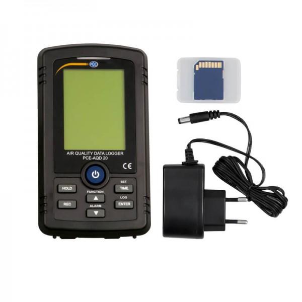 PCE-AQD 20 регистратор формальдегида, углекислого газа и качества воздуха