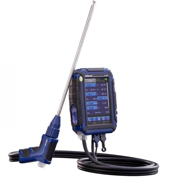 Wöhler A 450 анализатор дымовых газов