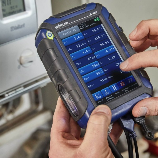 Wöhler A 450 L анализатор дымовых газов до 100 000 ppm CO