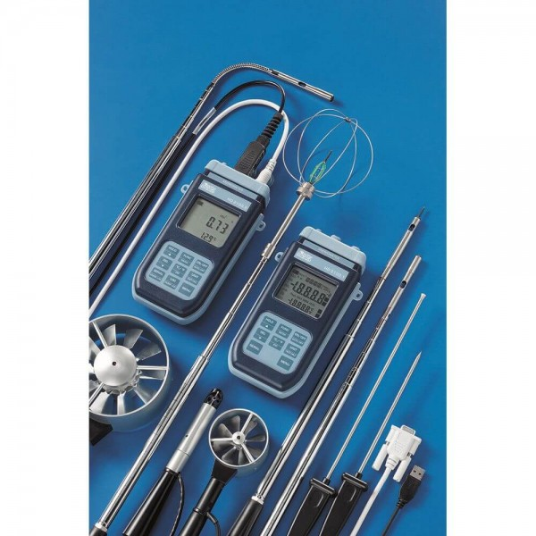 Delta OHM HD2103.2 многофункциональный анемометр-термометр с регистрацией данных