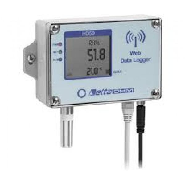 Delta OHM HD5014bNTV водонепроницаемый Web регистратор влажности, атмосферного давления и температуры со встроенным датчиком (NTC 10KΩ)