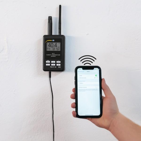 PCE-HT 120 термогигрометр с беспроводной передачей данных