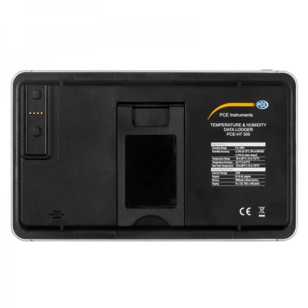 PCE-HT 300 регистратор температуры и влажности с сенсорным дисплеем