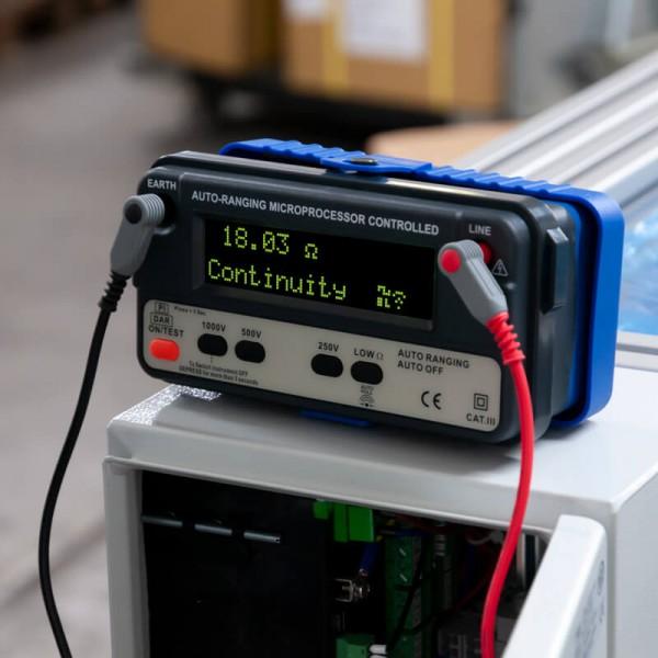PCE-IT120 измеритель сопротивления заземления (до 8 гОм)