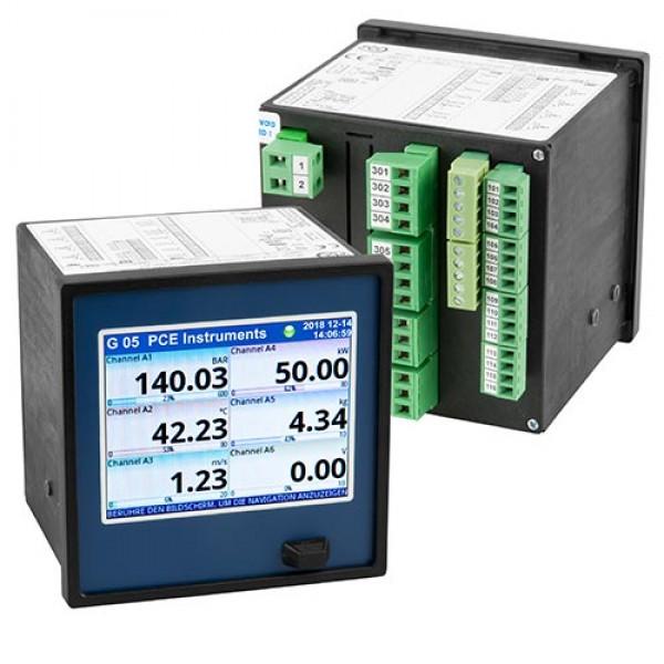 PCE-KD5 многоканальный регистратор