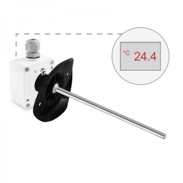 Sensorshop24® KNTF/A канальный датчик температуры c аналоговым выходом