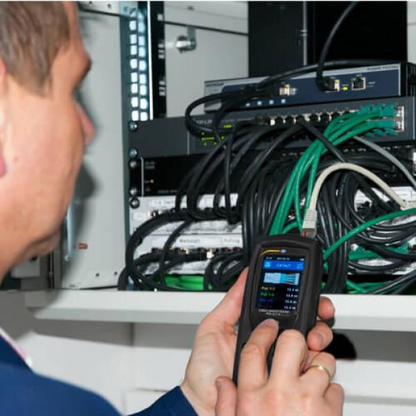 PCE-CLT 10 измеритель длины кабеля