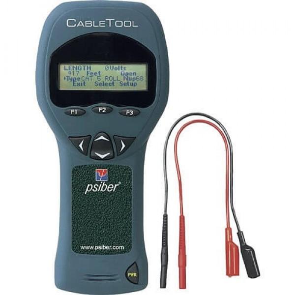 Psiber Cable Tool трассоискатель для поиска обрыва и напряжения