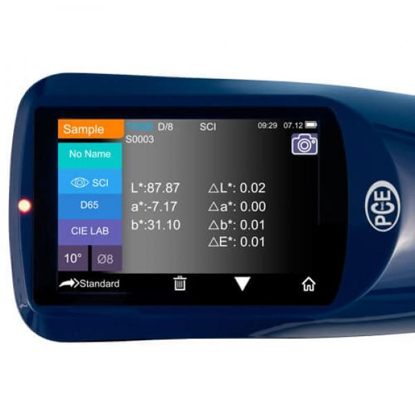 PCE-CSM 22 профессиональный, решётчатый спектрометр с апертурой Ø 4 и 8 мм