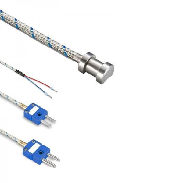 Sensorshop24® LG1 трубный датчик температуры L-типа